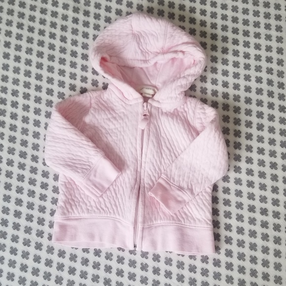 Burt's Bees Baby Other - Sweetest Pink Organic Cotton Infant Hoodie